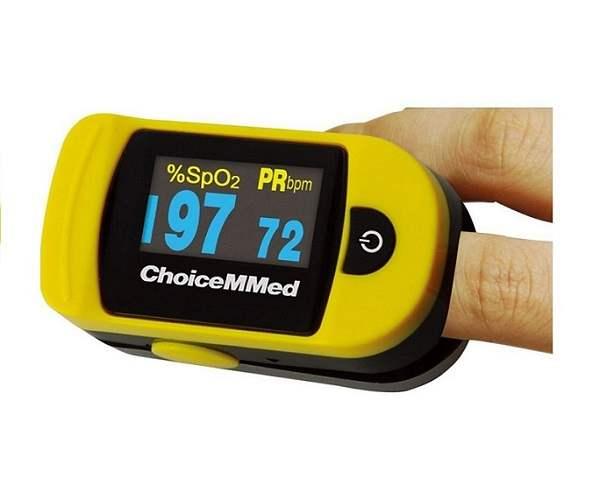 Omron ChoiceMMed Portable Fingertip Non-Invasive Pulse Oximeter - MD300C20