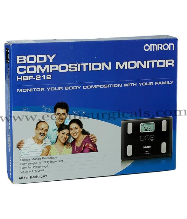 omron hbf 212 body composition monitor