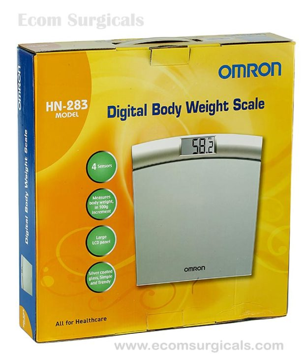 Omron HN 283 digital body weight scale