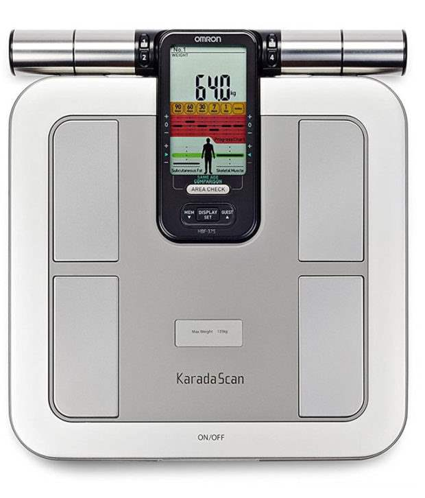 Buy Omron Body Composition Monitor HBF-375 at best rate available in India.