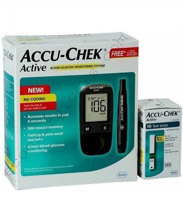 Accu Chek Active Blood Sugar Monitor