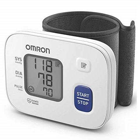 Omron HEM 6161 Wrist Blood Pressure Monitor